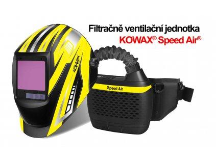SET Filtračně ventilační jednotka Speed Air ARC+ a kukla KOWAX 820 ARC+