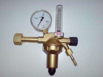 Redukční ventil Argon DIN + FLOW N1 s průtokoměrem