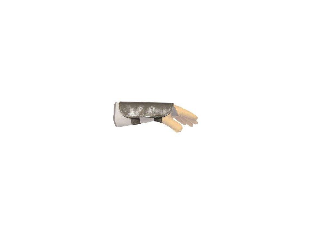 Hliníková ochrana ruky