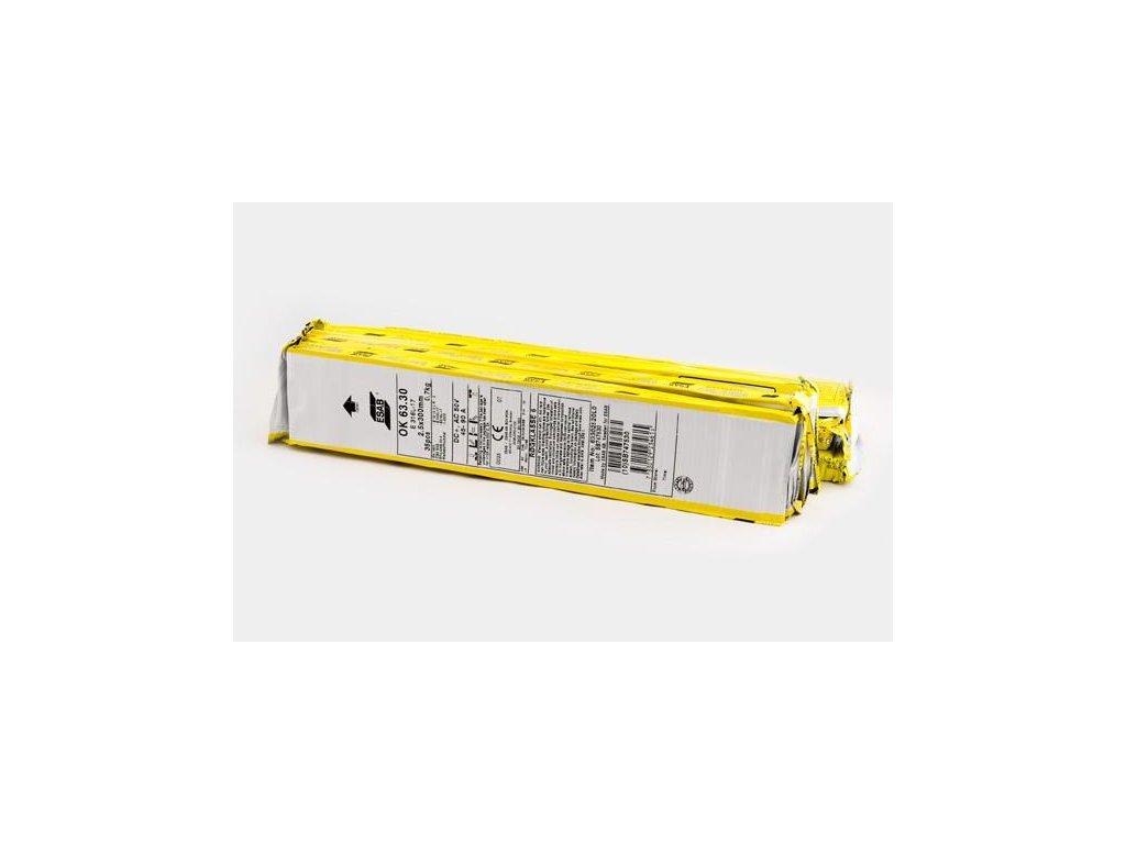 Elektroda OK 92.58 2.5x300mm. VP nové označení OK NiFe-Cl-A 2.5x300mm VP. Náhrada za E-S 716