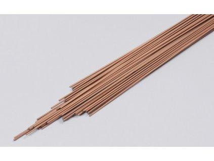 Drát G 102 pr. 4.0 mm. délka 1000 mm.