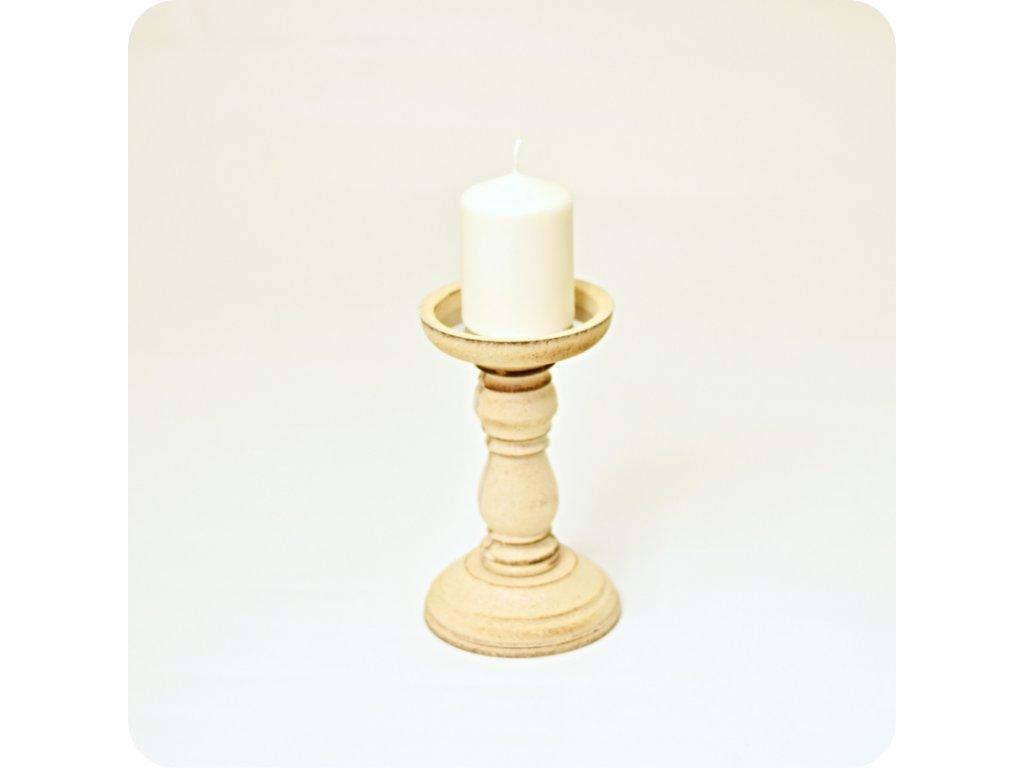 Svícen dřevěný  (cena při znehodnocení: 50 Kč/ks)