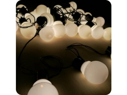 Žárovky mléčné, 8m  (cena při znehodnocení: 500 Kč/ks)