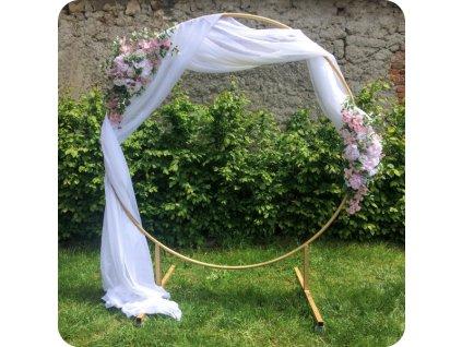 svatební slavobrána zlatý kruh
