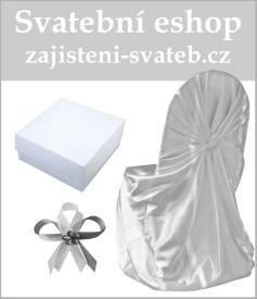 Zajištění svateb - svatební potahy, vývazky, placky, rautové sukně, ubrusy