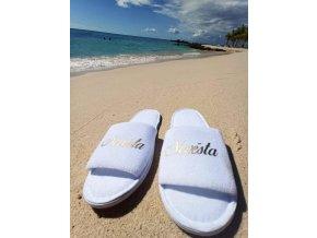 Pantofle Nevěsta