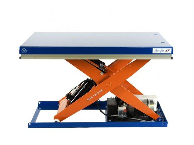 CL 1001  Nosnost 1000 kg, stůl 800 mm x 1200 mm