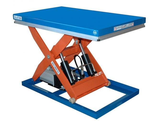 CL 2000  Nosnost 2000 kg, šířka stolu 800 mm, délka stolu 1300 mm