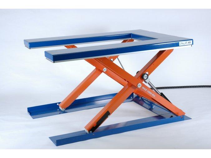 CUB 1000  Možnost nakládky paletovacím vozíkem z úrovně podlahy!
