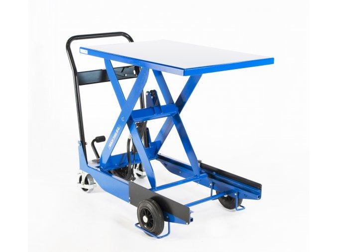 CZ 503  Mobilní zdvihací stůl s nosností 500 kg a výškou stolu až 930 mm