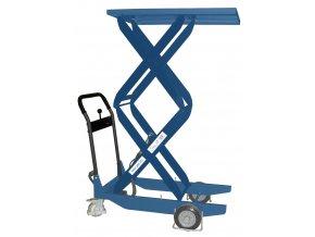 CZ 203, CZD 203  Mobilní zdvihací stůl s nosností 200 kg a výškou stolu až 1620 mm