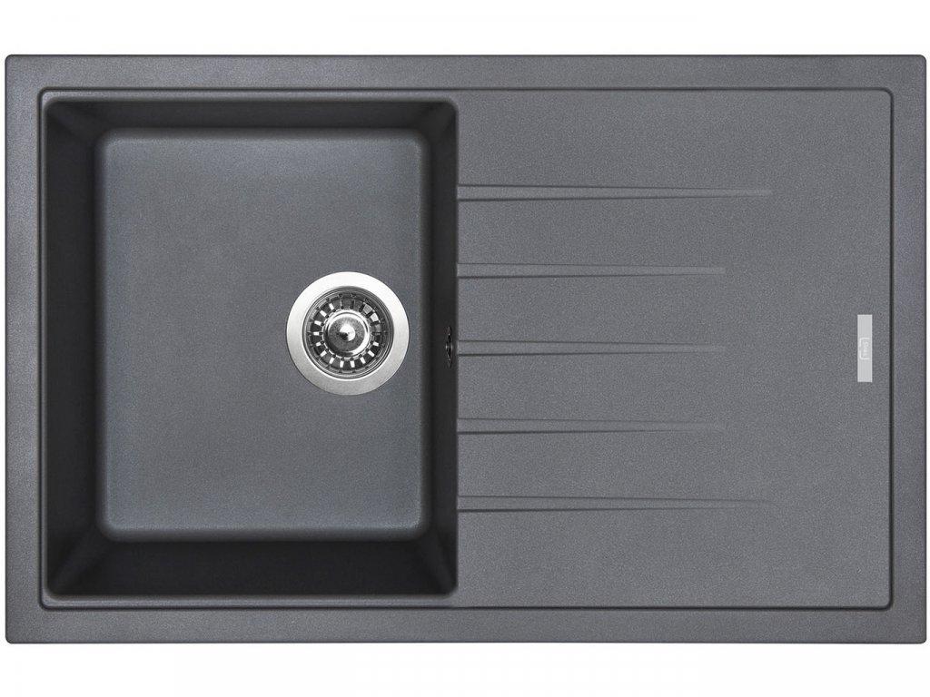 Granitový dřez Sinks BEST 780 Titanium  + Čistící pasta Sinks na dřezy