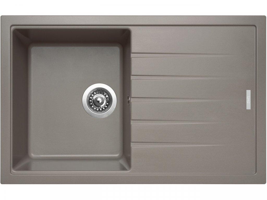 Granitový dřez Sinks BEST 780 Truffle  + Čistící pasta Sinks na dřezy