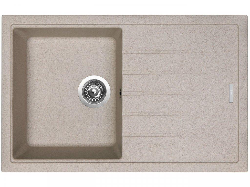 Granitový dřez Sinks BEST 780 Avena  + Čistící pasta Sinks na dřezy