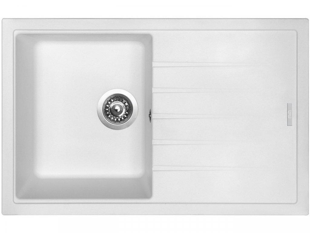 Granitový dřez Sinks BEST 780 Milk  + Čistící pasta Sinks na dřezy