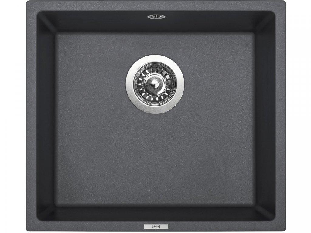 Granitový dřez Sinks FRAME 457 Titanium  + Čistící pasta Sinks na dřezy