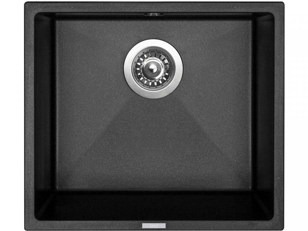 Granitový dřez Sinks FRAME 457 Metalblack