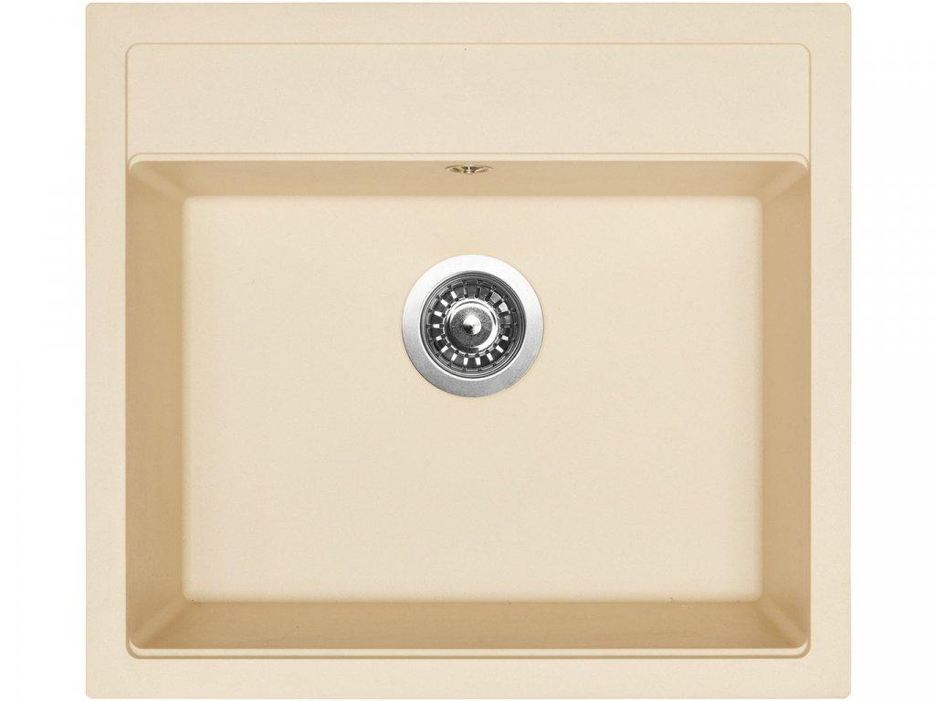 Granitový dřez Sinks SOLO 560 Sahara  + Čistící pasta Sinks na dřezy