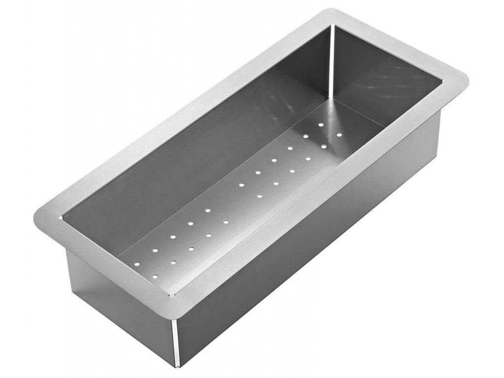 Sinks cedník 430x190mm nerez