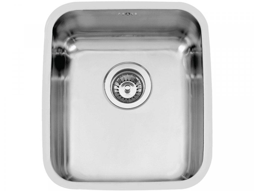Nerezový dřez Sinks BRASILIA 380 V 0,7mm trojmontáž leštěný