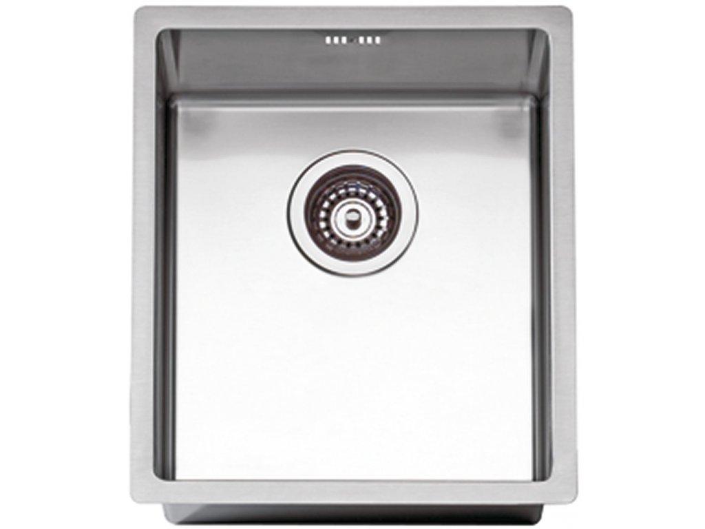 Nerezový dřez Sinks BOX 390 RO  + Čistící pasta Sinks