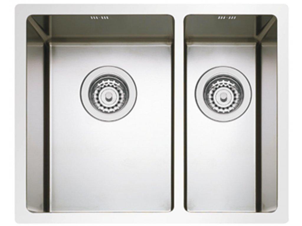 Nerezový dřez Sinks BOX 585.1 RO  + Čistící pasta Sinks