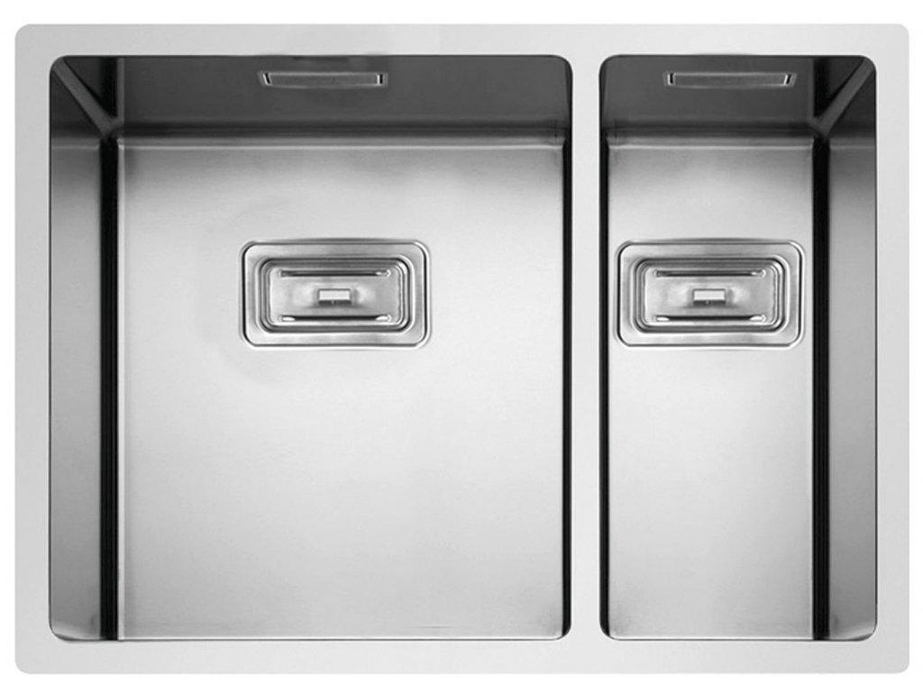 Nerezový dřez Sinks BOX 585.1 FI  + Čistící pasta Sinks