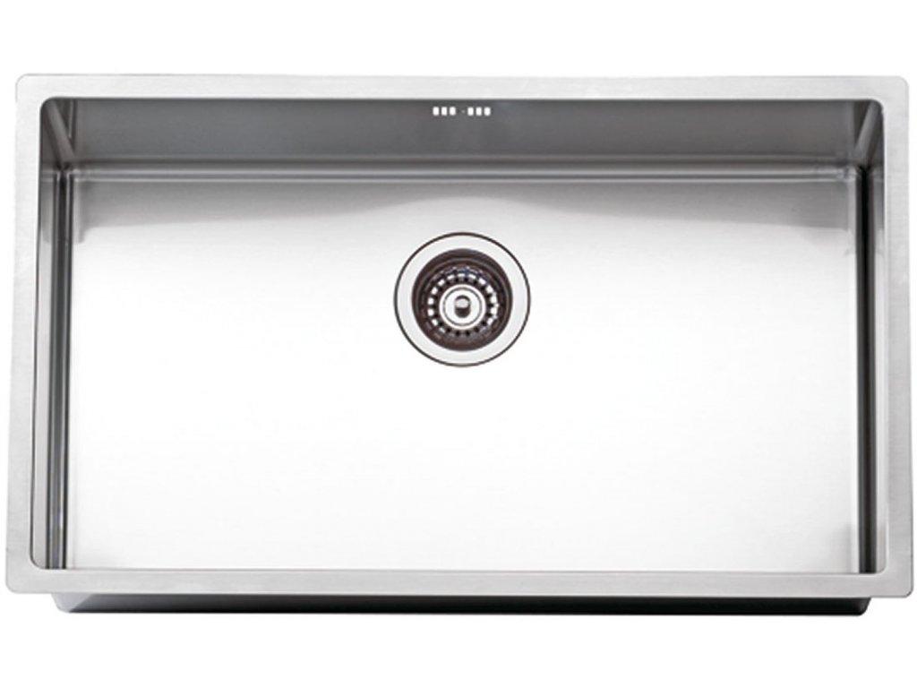 Nerezový dřez Sinks BOX 790 RO 1,0mm  + Čistící pasta Sinks na dřezy