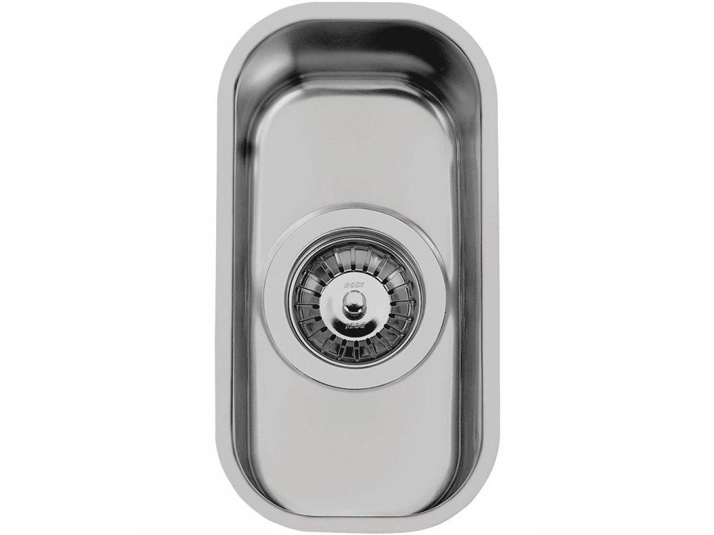 Nerezový dřez Sinks SINGULAR 168 V leštěný