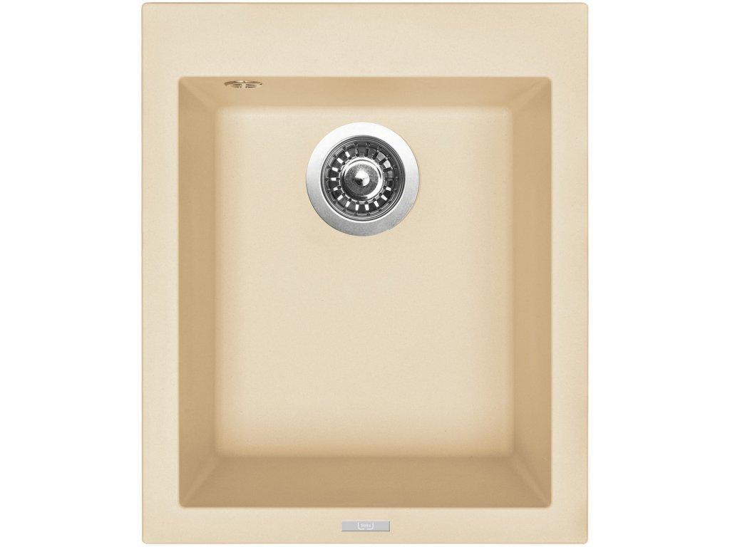 Granitový dřez Sinks CUBE 410 Sahara