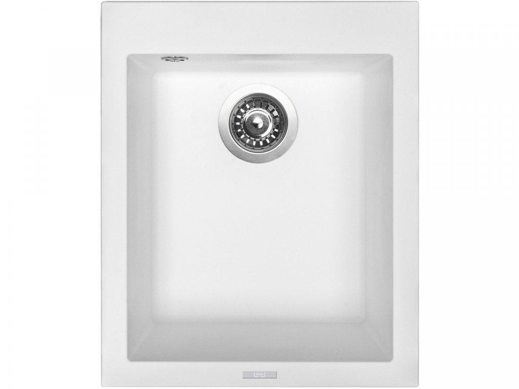 Granitový dřez Sinks CUBE 410 Milk  + Čistící pasta Sinks na dřezy