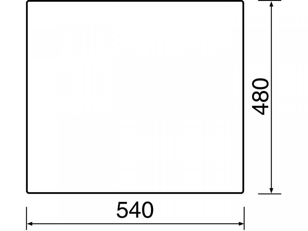 Granitový dřez Sinks CUBE 560 Metalblack  + Čistící pasta Sinks na dřezy