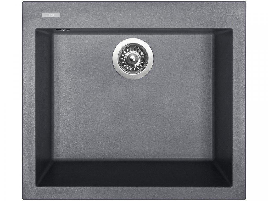 Granitový dřez Sinks CUBE 560 Titanium  + Čistící pasta Sinks na dřezy