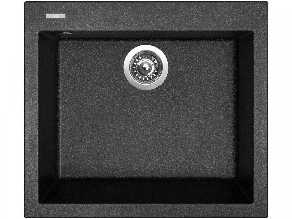 Granitový dřez Sinks CUBE 560 Granblack