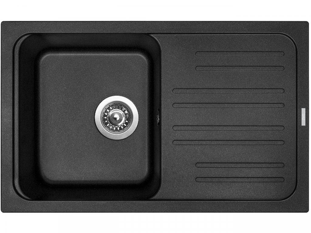 Granitový dřez Sinks CLASSIC 740 Metalblack
