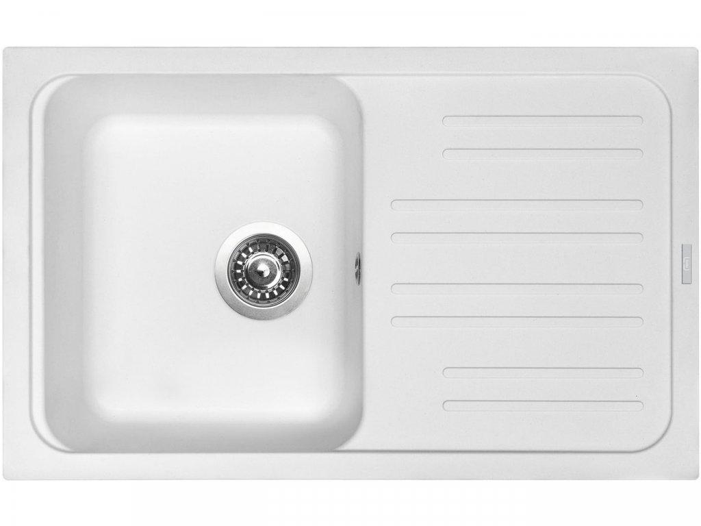 Granitový dřez Sinks CLASSIC 740 Milk