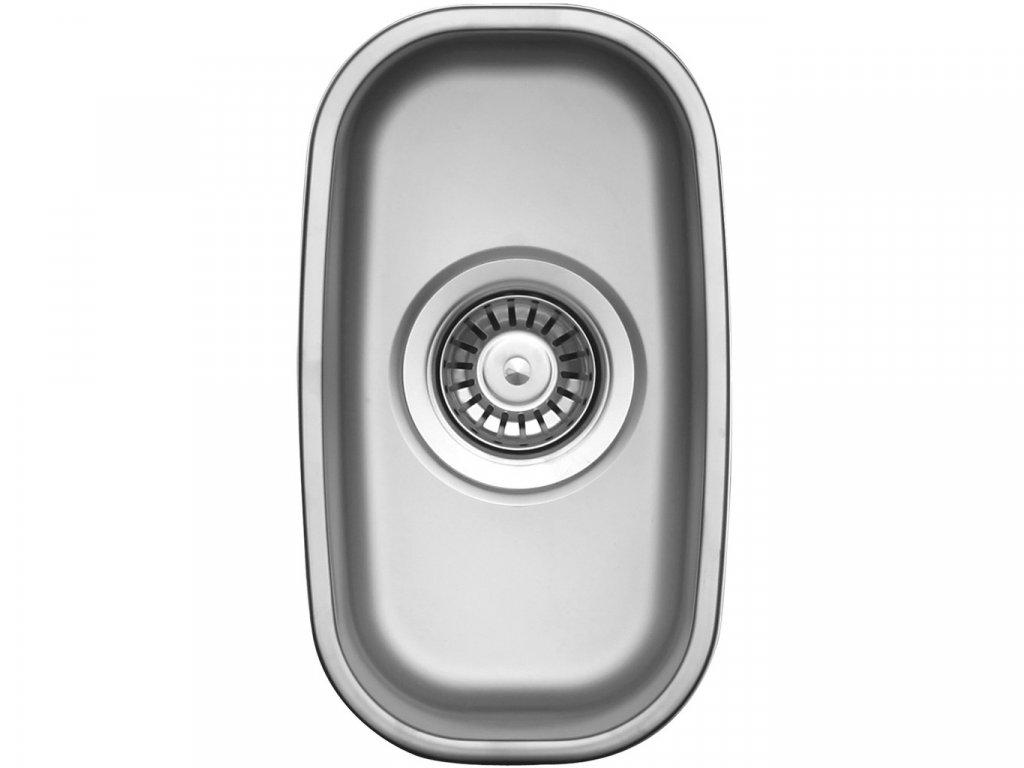 Nerezový dřez Sinks UNDERMOUNT 195 V matný