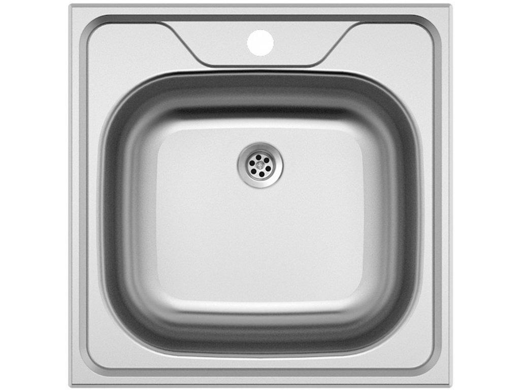 Nerezový dřez Sinks CLASSIC 480 M 0,6mm matný