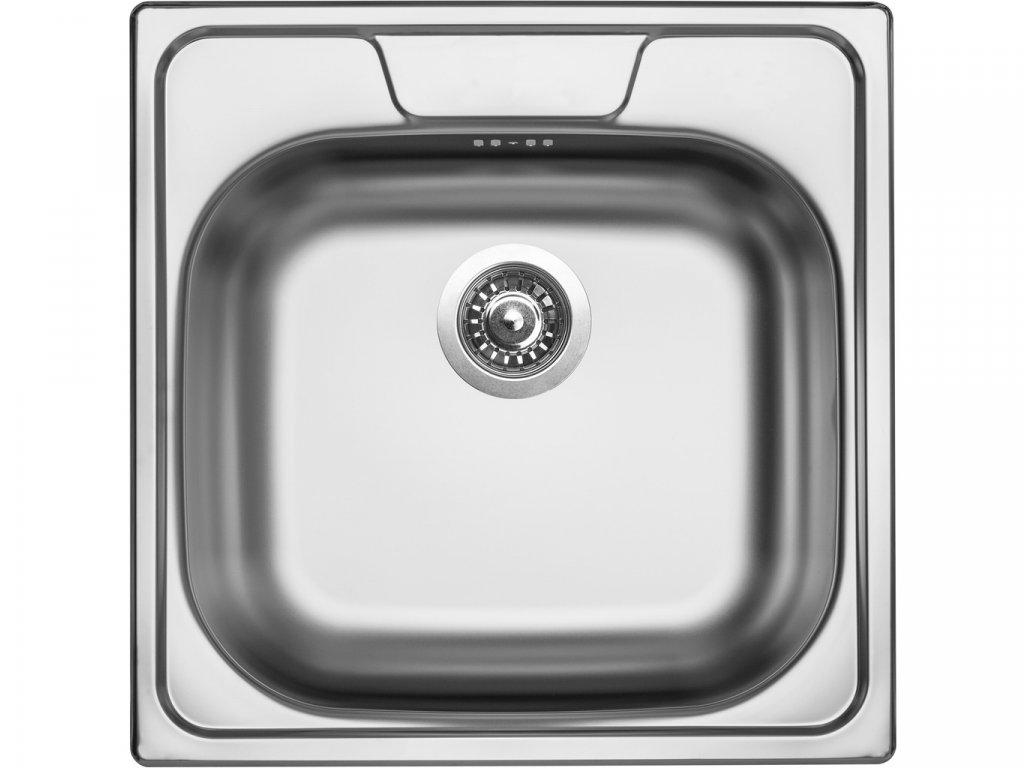 Nerezový dřez Sinks CLASSIC 480 V 0,8mm leštěný