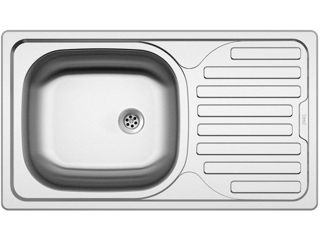 Nerezový dřez Sinks CLASSIC 760 M 0,6mm matný