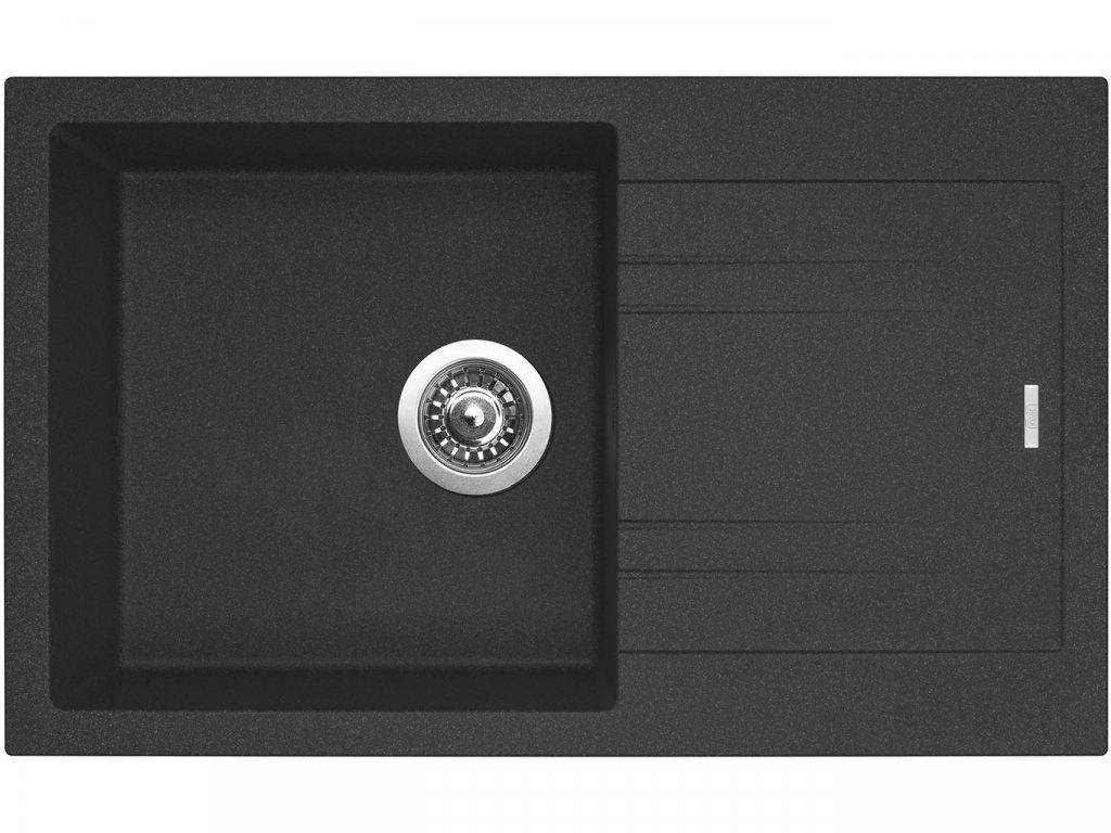 Granitový dřez Sinks LINEA 780 N Granblack  + Čistící pasta Sinks na dřezy