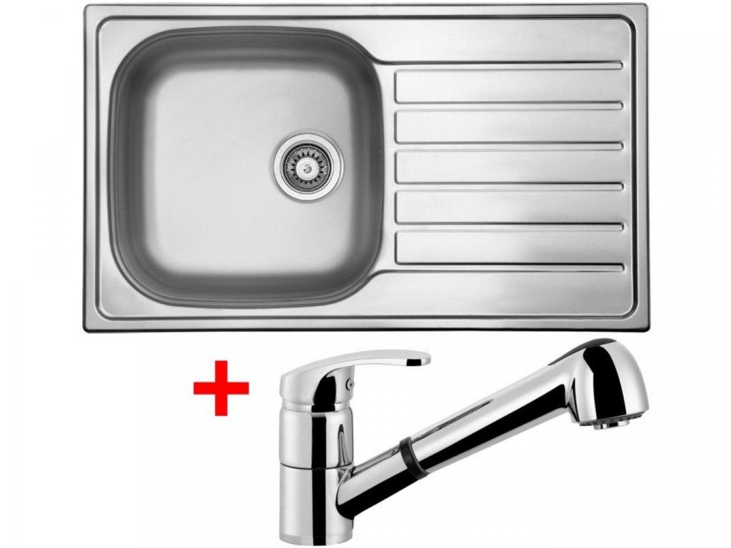 Nerezový dřez Sinks HYPNOS 860 V+LEGENDA S