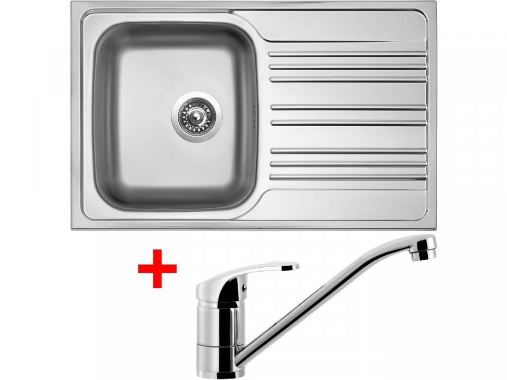 Nerezový dřez Sinks STAR 780 V+PRONTO