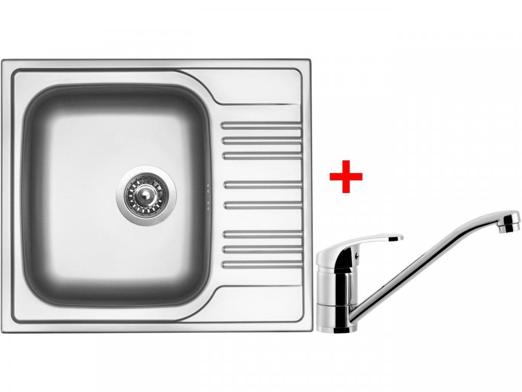 Nerezový dřez Sinks STAR 580 V+PRONTO