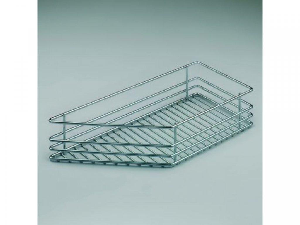 Koš do bočního výsuvu 45° - levý - pro skříň 300 mm