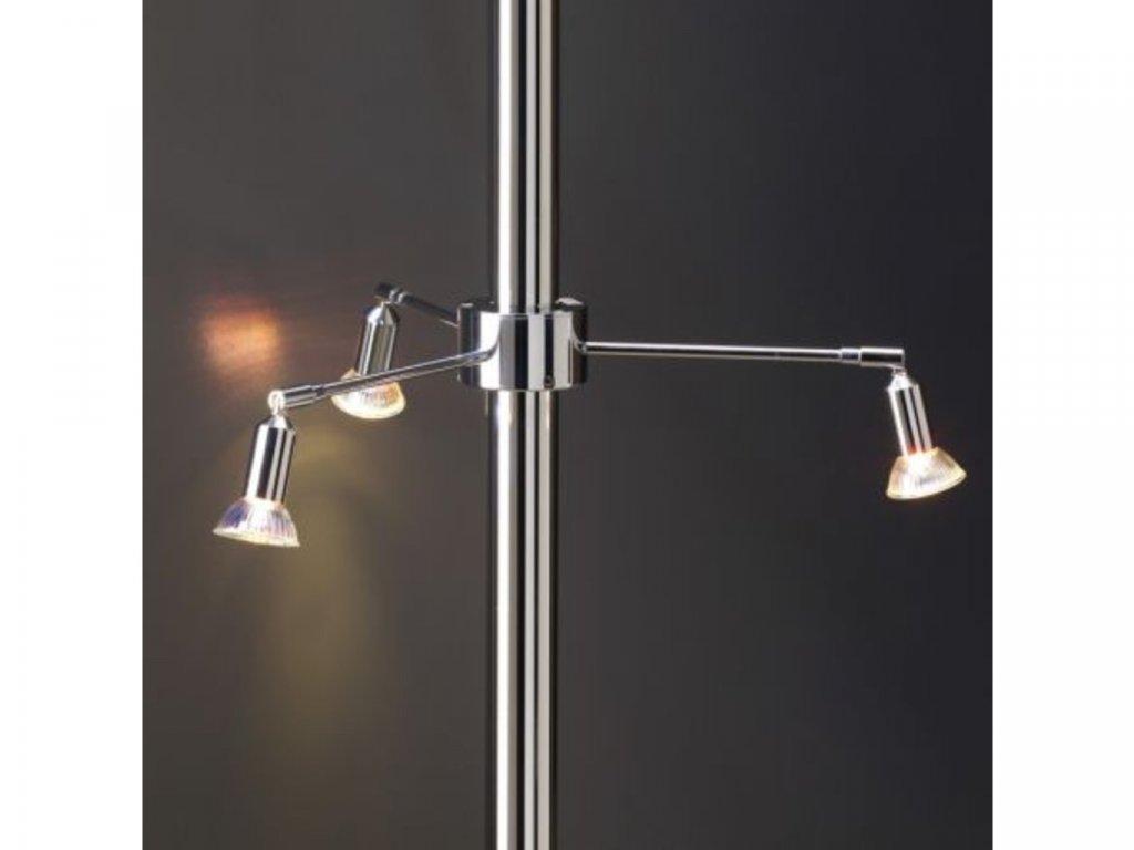 Světlo tříramenné - 3 x 20 W - mosaz
