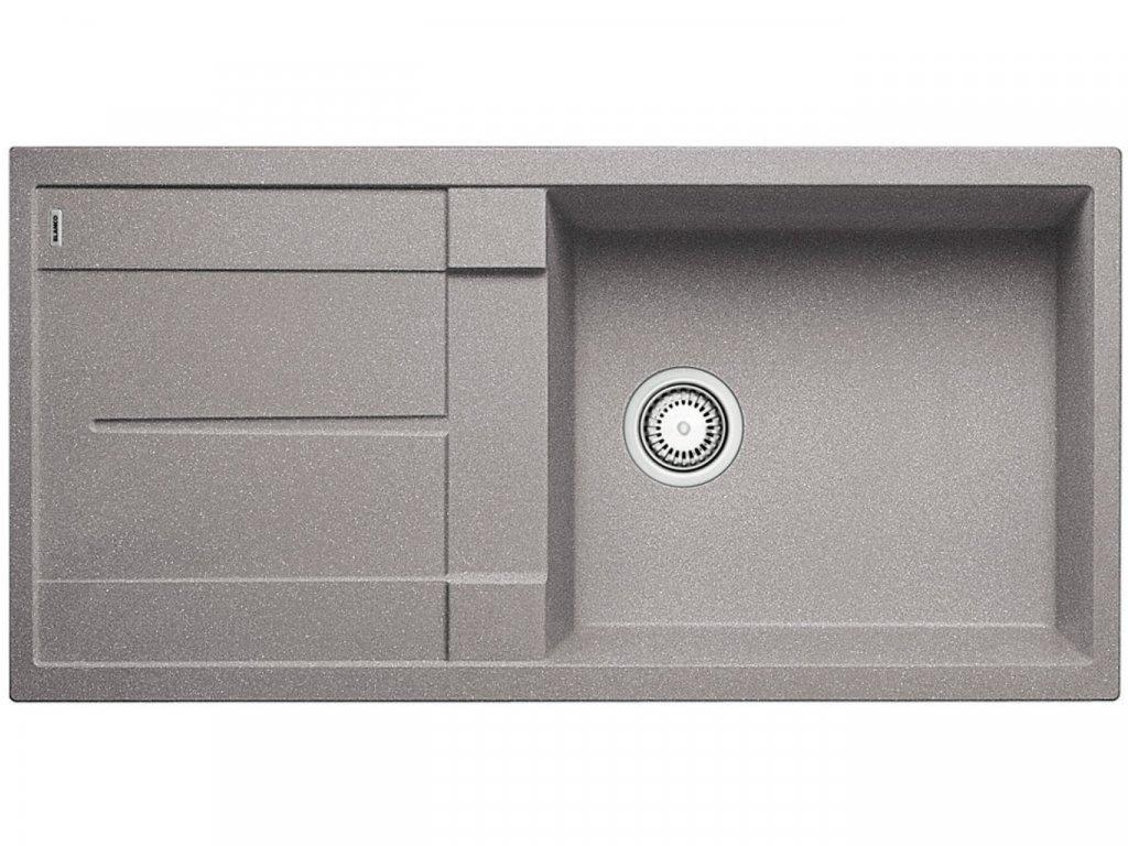 Granitový dřez Blanco METRA XL 6 S aluminium