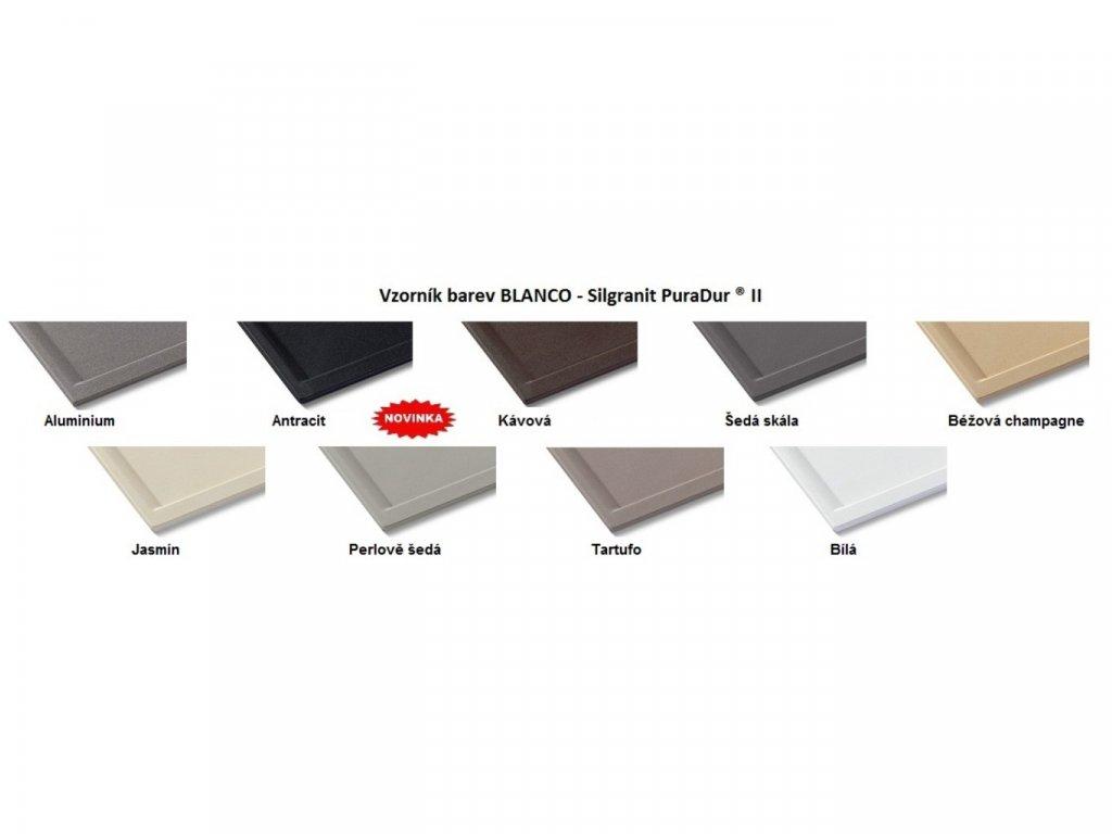 Granitový dřez Blanco SUBLINE 160-U béžová champagne bez táhla