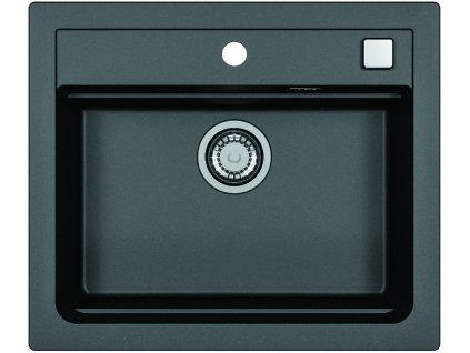 Granitový dřez Alveus ATROX 30 černý
