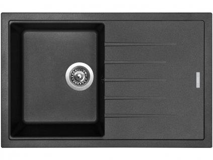 Granitový dřez Sinks BEST 780 Metalblack  + Čistící pasta Sinks na dřezy
